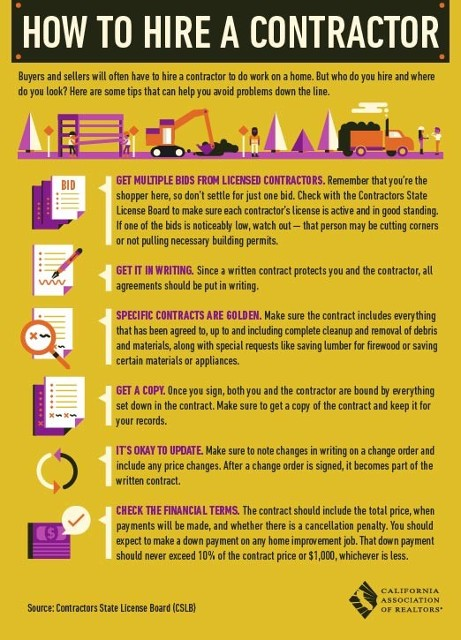 How to Hire a Contractor, Brochure